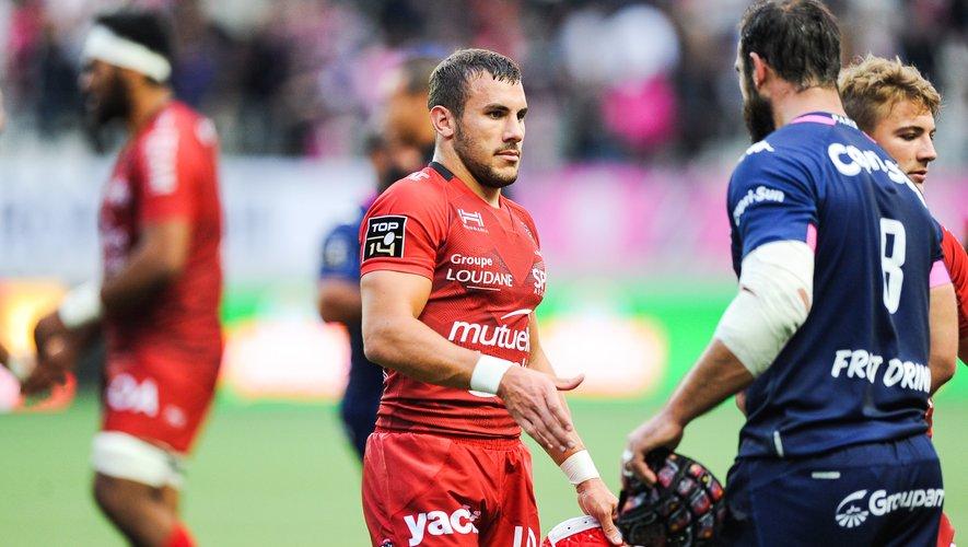 Gabin Villière a fait ses premiers pas en Top 14. Photo Icon Sport