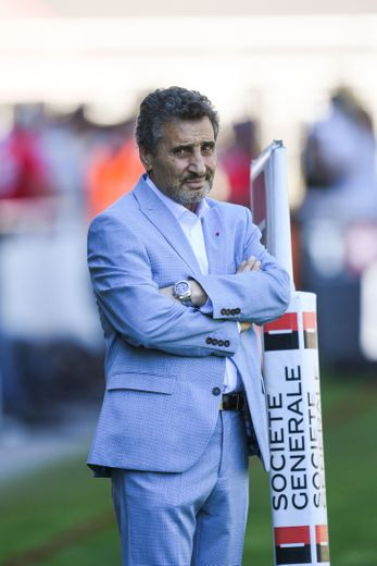 Le président de Montpellier Mohed Altrad Photo Icon Sport