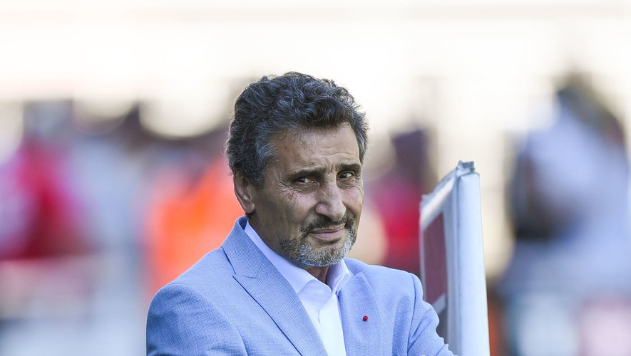 Le président de Montpellier Mohed Altrad Photo Icon Sport