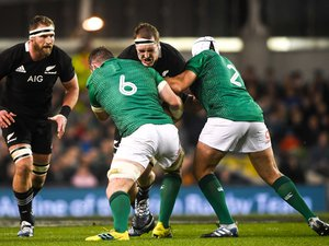 En manque de temps de jeu dans cette première partie du Mondial à cause d'une blessure à l'épaule, Brodie Retallick sera titulaire face à l'Irlande, au détriment de Scott Barrett.