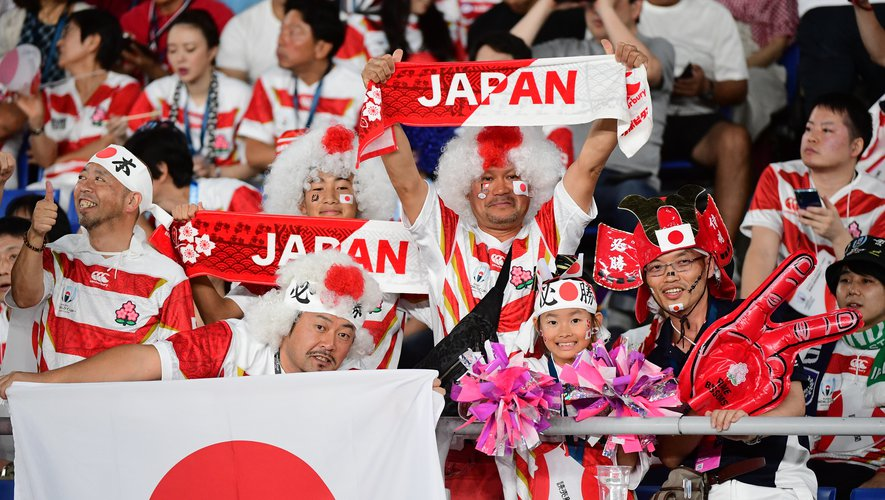 Outre des audiences télévisuelles aux chiffres hallucinants, les Brave Blossoms sont poussés par tout un peuple. Photo Icon Sport