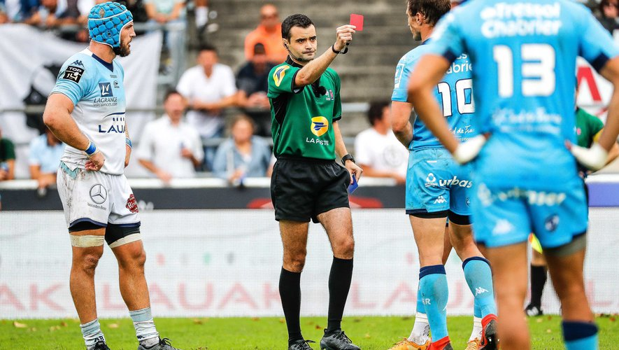 Johan Goosen a été exclu contre Bayonne