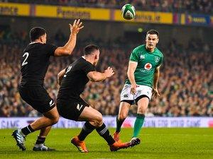 Jonathan Sexton (Irlande) lors de la victoire irlandaise contre les All Blacks