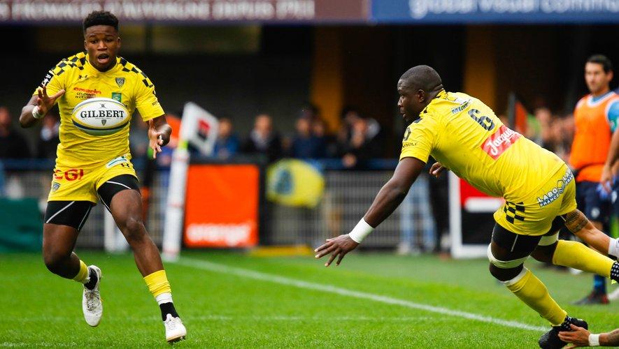 Samuel Ezeala (Clermont) contre Montpellier