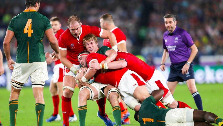 Wales v South Africa - 2019 Rugby World Cup - Semi Final - International Stadium Yokohama