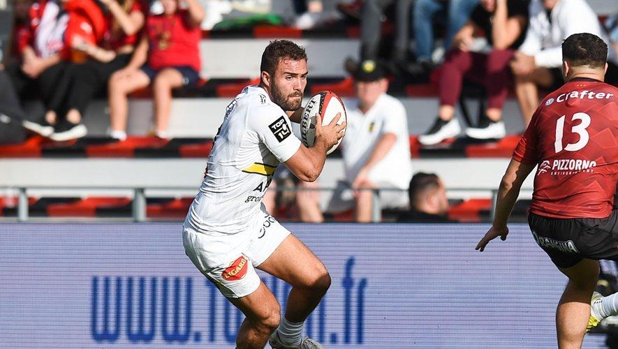 Top 14 - Eliott Roudil (La Rochelle) contre Toulon