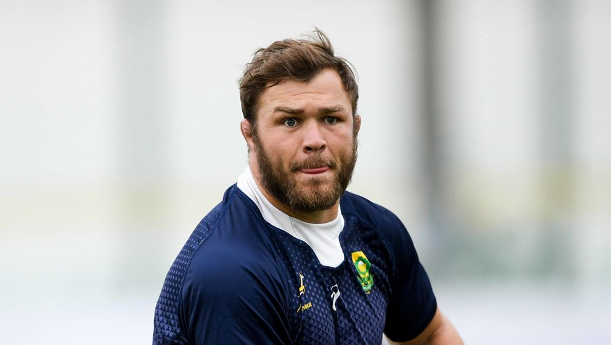 16 October 2019; Duane Vermeulen during South Africa squad training at Fuchu Asahi Football Park in Tokyo, Japan. Photo by Ramsey Cardy/Sportsfile   Photo by Icon Sport - Duane VERMEULEN - Fuchu Asahi Football Park - Tokyo  (Japon)