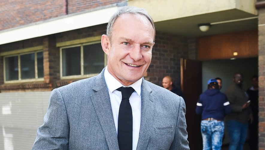 Francois Pienaar the 1995 world world cup winning captain during the Chester Williams Memorial Service at University of the Western Cape, Cape Town on 11 September 2019BackpagePix   Photo by Icon Sport - Francois PIENAAR - Chester WILLIAMS - University of the Western Cape - Johannesburg (Afrique du Sud)