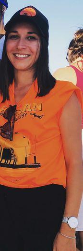 Anaïs Martinez officie comme directrice de match au niveau territorial.