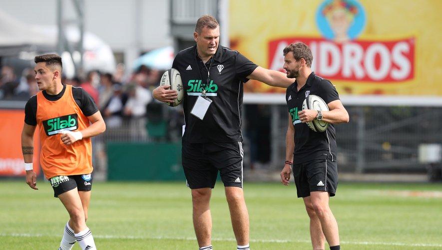 Jeremy Davidson et Jean-Baptiste Péjoine feront-ils un coup à l'extérieur ? Photo Icon Sport