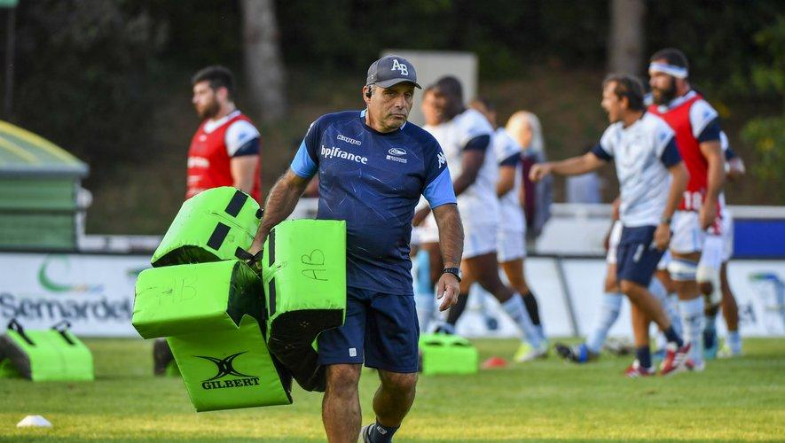 Samedi, Joël Rey vivra un moment très particulier face à son ancien club où joue son fils Lucas au talonnage. Photo Icon Sport