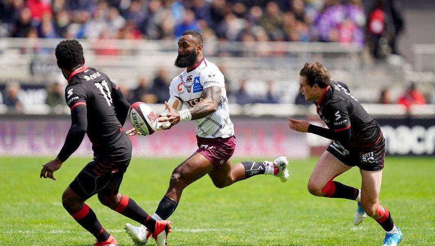 Top 14 - Semi Radradra (Bordeaux) contre Lyon