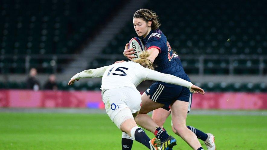 Jessy Tremouliere (France) contre l'Angleterre