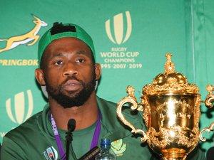 Coupe du monde - Siya Kolisi (Afrique du sud).