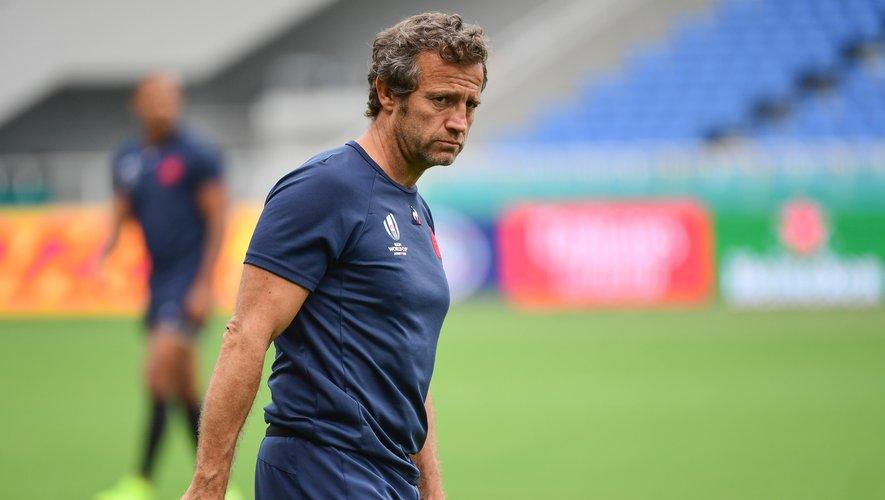 Fabien Galthié, sélectionneur du XV de France.