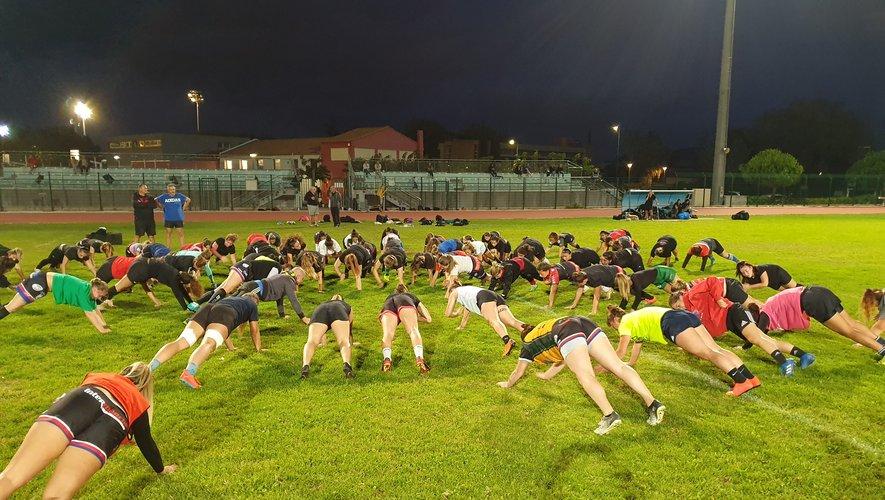 La préparation physique a été intense pour les Varoises.