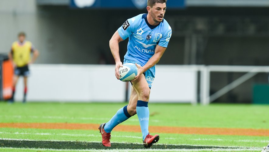 Anthony BOUTHIER of Montpellier  during the Top 14 match between Montpellier and Toulouse on October 19, 2019 in Montpellier, France. (Photo by Alexandre Dimou/Icon Sport) - Anthony BOUTHIER - Altrad Stadium - Montpellier (France)