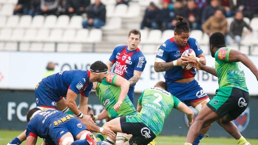 Leva Fifita et les Grenoblois ont parfaitement géré la venue de Montauban. Photo Icon Sport