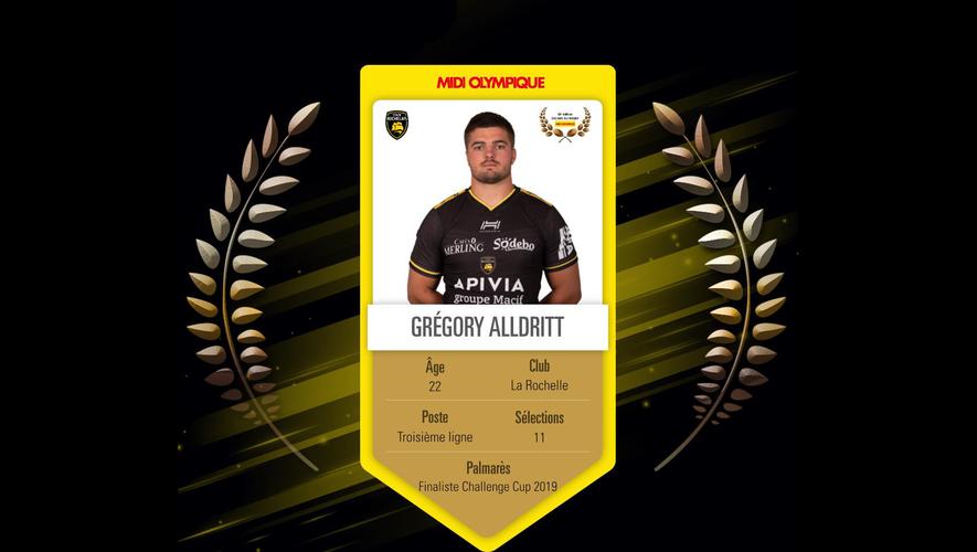 Grégory Alldritt, Oscar de bronze