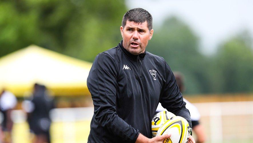 Pro D2 - David Auradou coach de Mont-de-Marsan