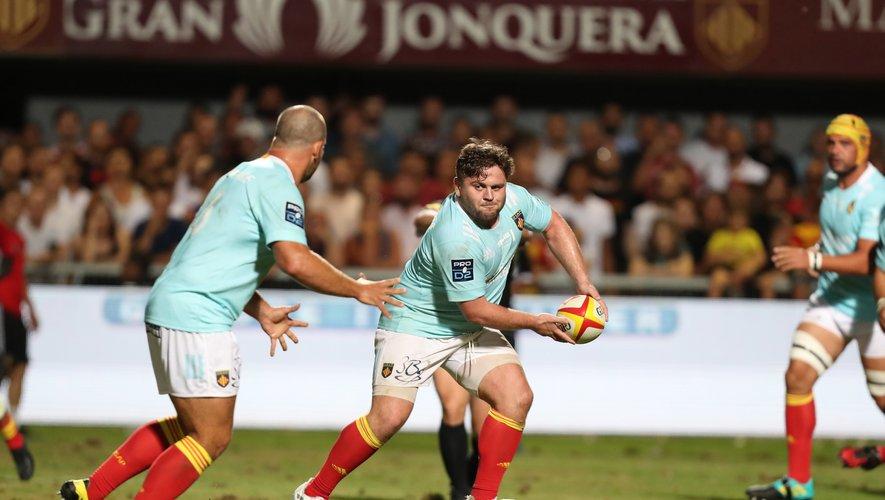 Enzo Forletta et les Perpignanais retrouvent ce week-end à Aimé-Giral leurs meilleurs ennemis grenoblois. Photo Icon Sport