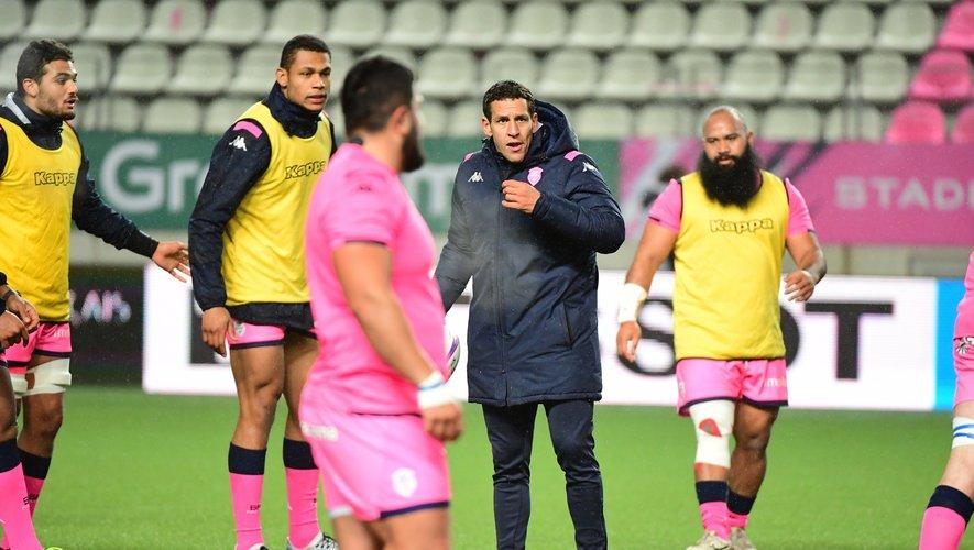 Julien Arias - Entraîneur du Stade français.