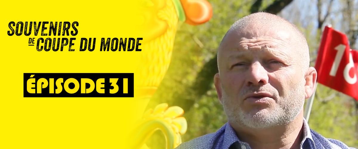 """Cédric Soulette dévoile ses """"Souvenirs de Coupe du monde"""""""