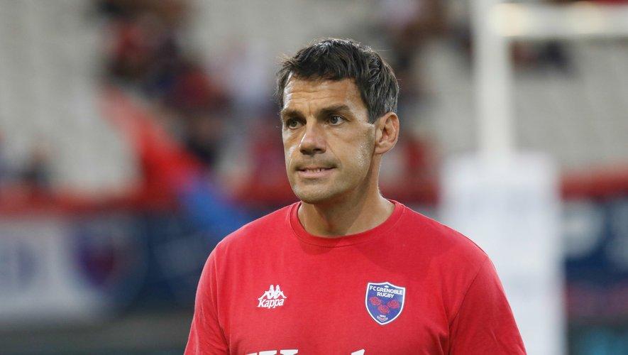 Stéphane Glas, entraîneur de Grenoble