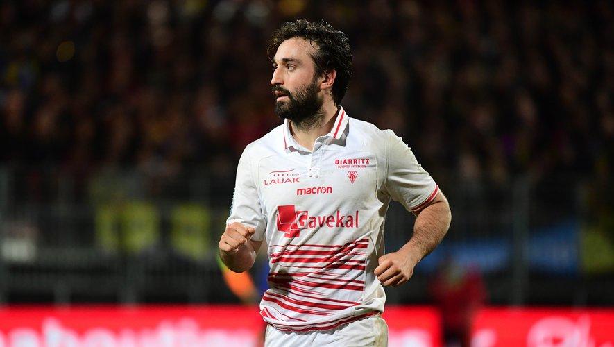 Bertrand Guiry maintenant joueur de Provence Rugby a retrouvé son ancien club, le BO