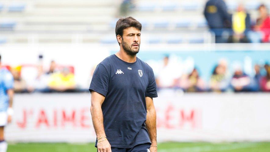 Xavier Garbajosa, coach de Montpellier.