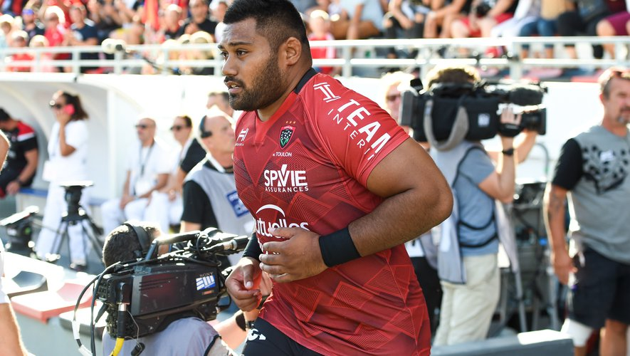 Top 14 - Christopher Tolofua (Toulon), face à Lyon.