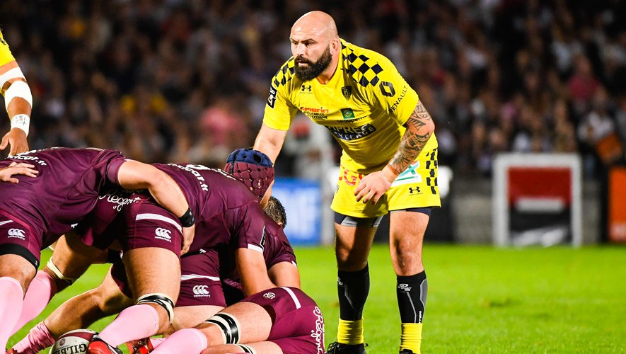 Mike Tadjer (Clermont) contre Bordeaux