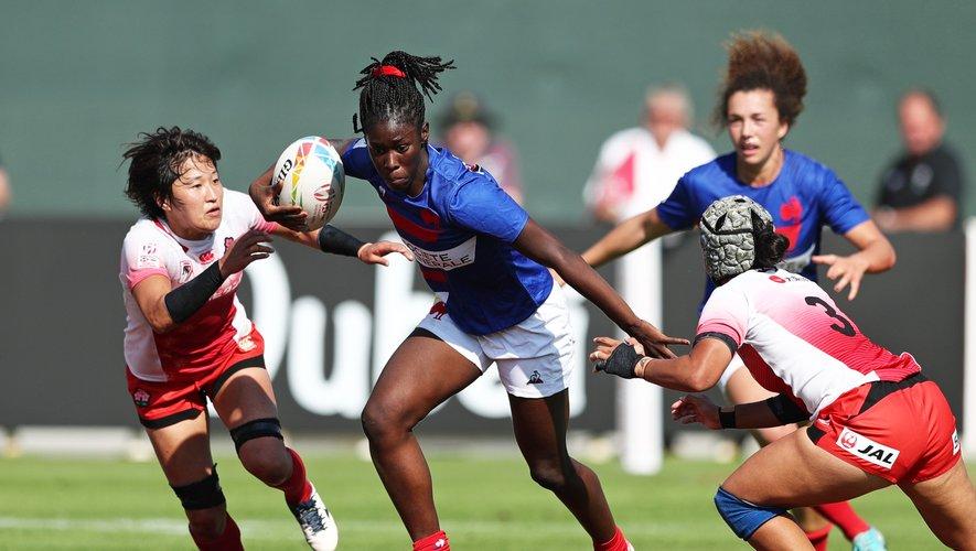 Nassira Konde (France) contre le Japon