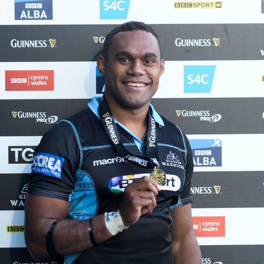 Leone Nakarawa aux Glasgow