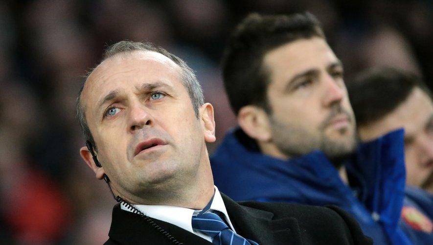 Philippe Saint-André mais aussi Jean-Baptiste Elissalde pourraient prendre la direction de Montpellier. Photo M. O. - D. P et Icon Sport