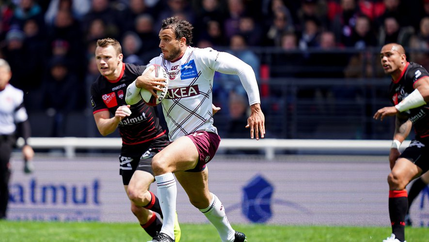 Nans Ducuing a débuté sept rencontres sur dix du Top 14. Il est un vrai cadre du club bordelais et certaines de ses performances rappellent qu'il fut quatre fois international. Photo Icon Sport