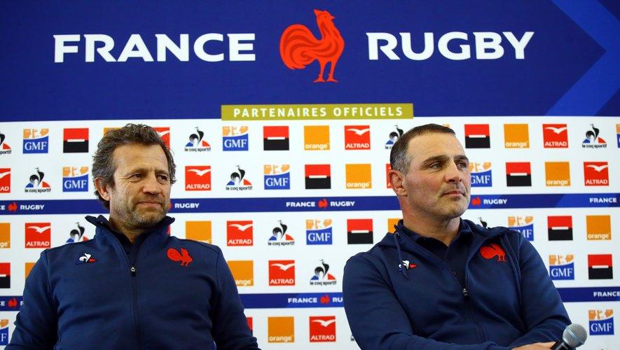 Fabien Galthié et Raphaël Ibanez. Photo M. O. - D. P.