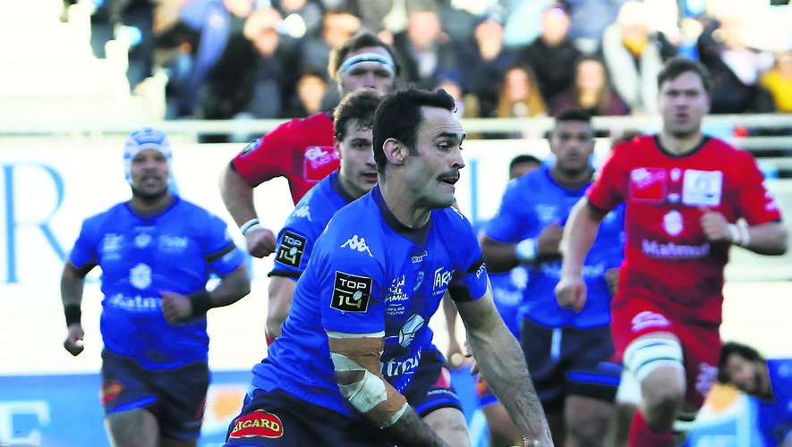 Top 14 - Thomas Combezou (Castres) contre Lyon