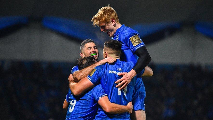 12 matchs (Pro 14 et Champions Cup) et 12 victoires pour le Leinster. Incroyable !