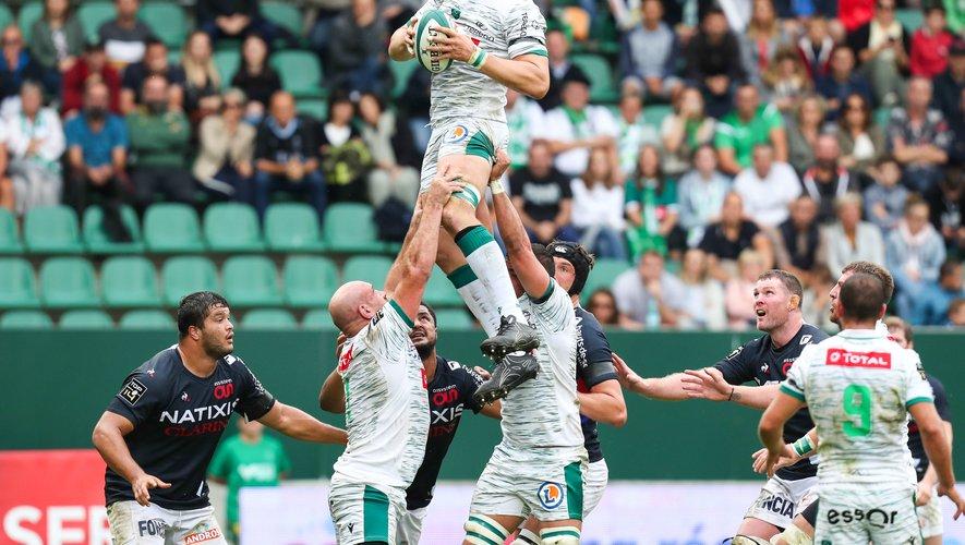 Fabrice Metz et les Palois ont trop souffert dans le secteur de la touche pour espérer plus qu'un bonus défensif contre Bordeaux-Bègles. Photo Archives Icon Sport