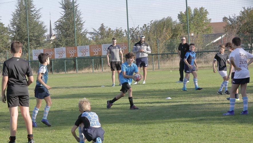L'école de rugby de Villefranche-sur-Saône a été une nouvelle fois labellisée. Une réussite qui se fait directement ressentir sur l'équipe fanion, promue l'été dernier en Fédérale 1.