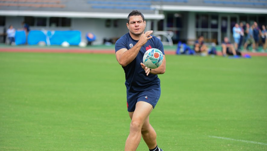 Guilhem GUIRADO of France  during France training session at Suizenji Athletic Field on October 8, 2019 in Kumamoto, Japan. (Photo by Dave Winter/Icon Sport) - Guilhem GUIRADO - Kumamoto (Japon)