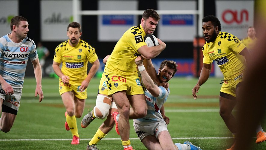 Damian Penaud (Clermont) contre le Racing 92