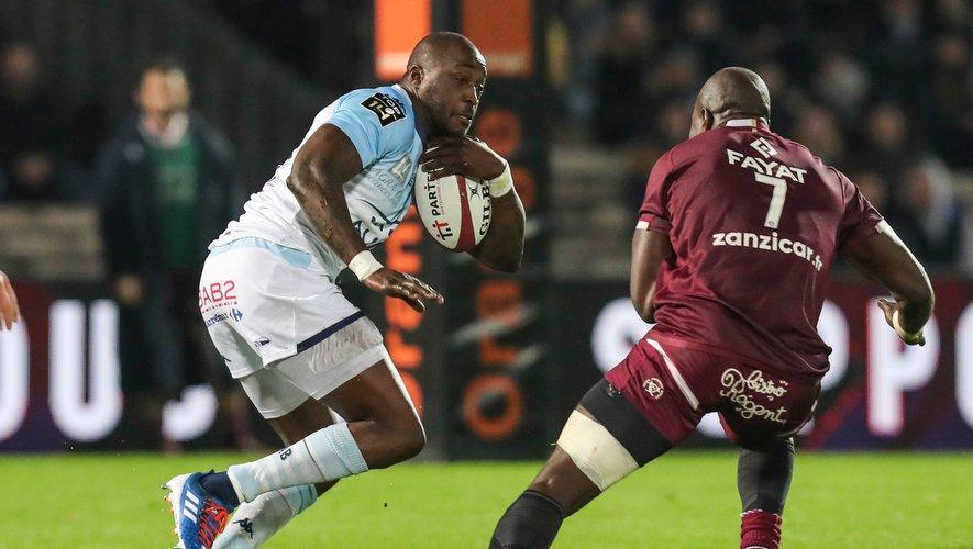 Djibril Camara (Bayonne) contre Bordeaux