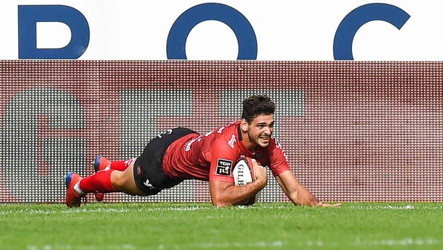 Julien Hériteau (Toulon) fait parti des surprises de la première liste de Fabien Galthié