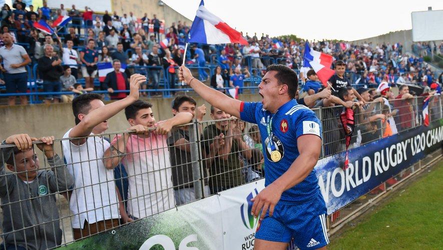 Arthur Vincent (France) champion du monde U20 avec les Bleus