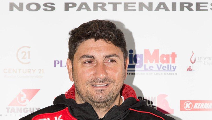Fernando Reche, l'entraîneur argentin de Plabennec.