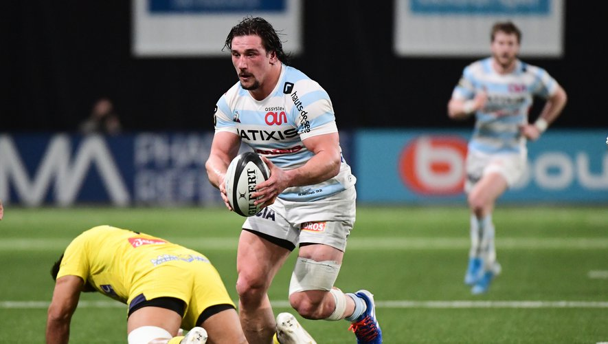 Camille Chat (Racing 92) contre Clermont