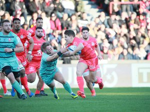 Antoine Dupont (Toulouse) contre Gloucester