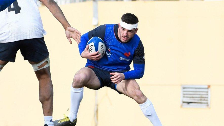 Anthony Bouthier (Montpellier) pourrait-être aligné d'entrée contre l'Angleterre